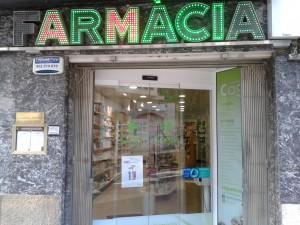 La farmàcia Cogul Ardèvol de Tarragona