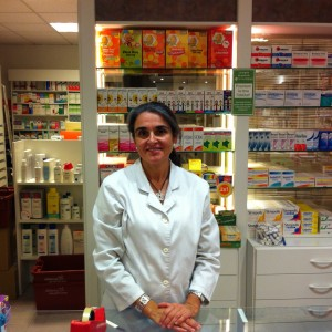 La farmacéutica Cristina Cullell de Sant Cugat (Barcelona)