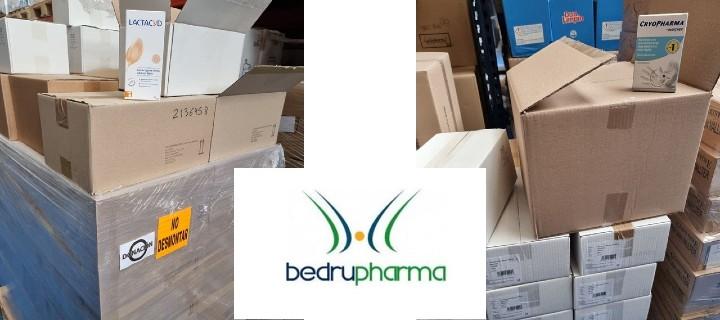Bedrupharma hace una donación de más de 5.000 productos de higiene dermatológica a Banco Farmacéutico para atender a población vulnerable